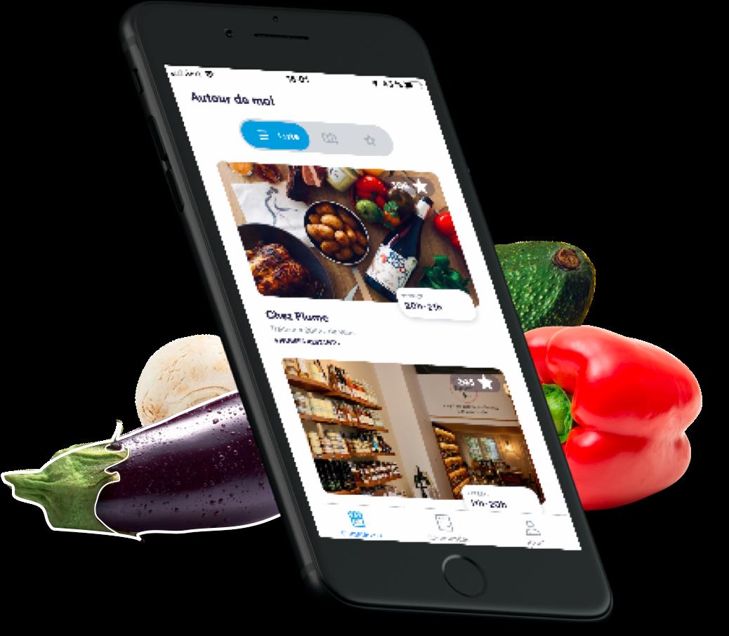 Ontdek de app against food waste