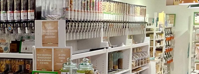 boutique vrac zéro déchet à Paris