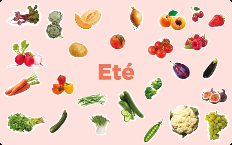 les-fruits-et-légumes-de-saison-en-été