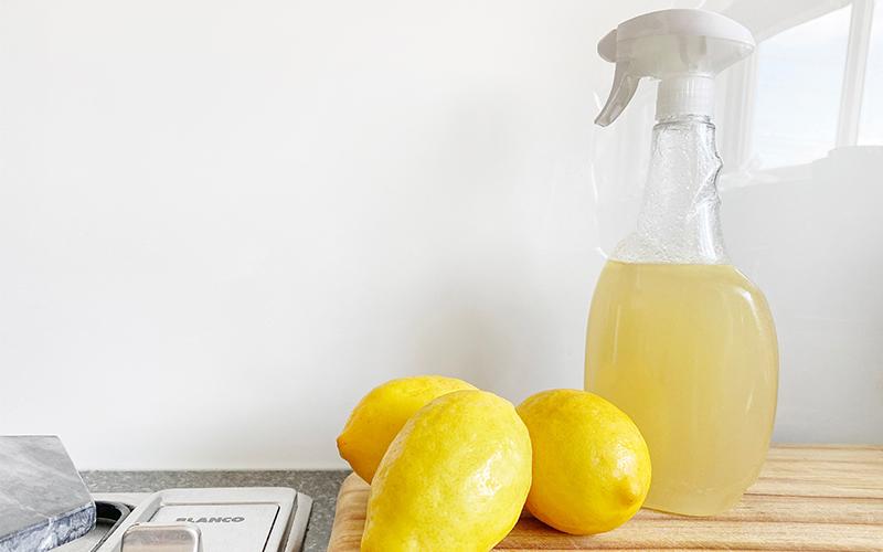 limpia el hogar con productos naturales