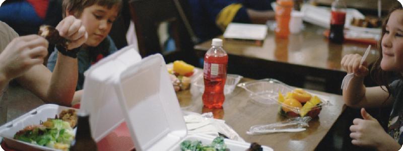 Le gaspillage dans les cantines scolaires