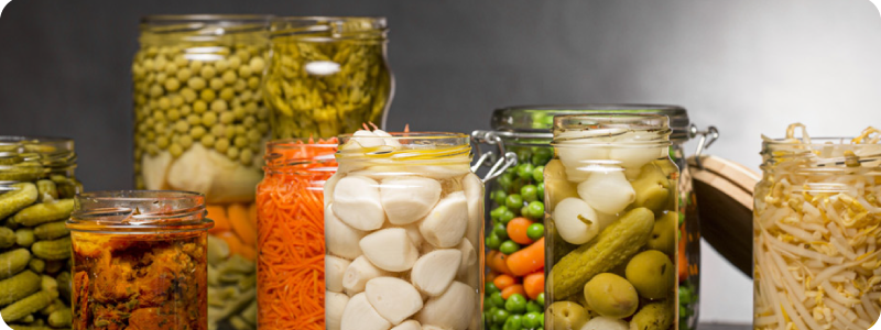 Conserver les fruits et les légumes grâce aux bocaux