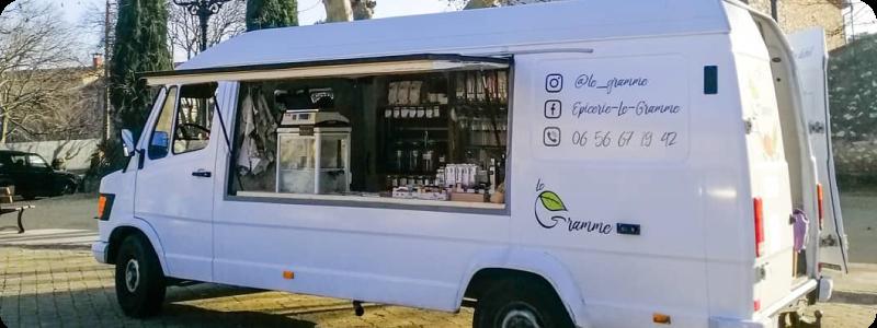 Camion vrac le Gramme Montpellier