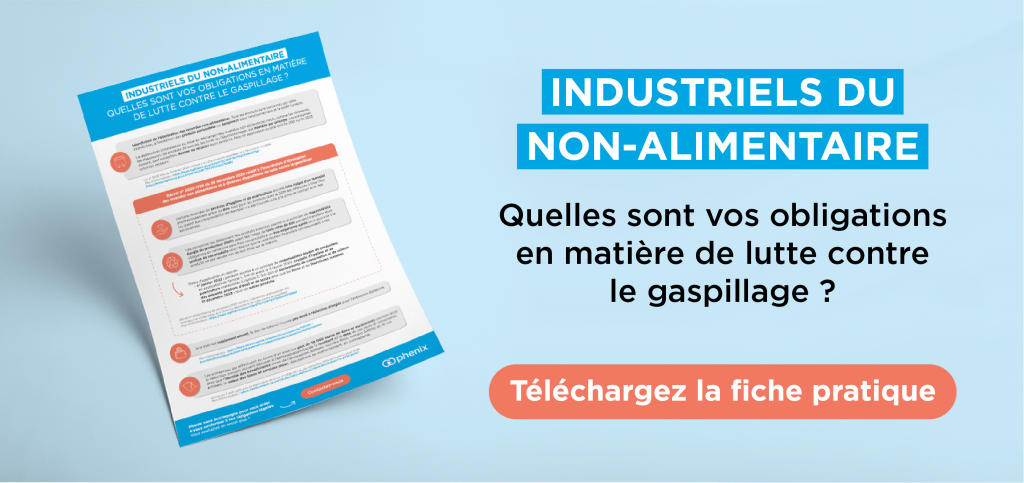 Obligations anti-gaspillage industrie non alimentaire
