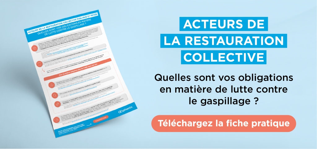 Obligations anti-gaspillage restauration collective